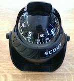 Scout Kompass mit kardanischer Aufhängung schwarz