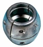 Wellendurchmesser von 55mm Wellenanode Aluminium in Kugelform