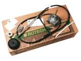 Rotationssteueranage T 71  Ultraflex Rotech I enthält Steuerwerk T71FC Montageplatte 90 Grad M66 Kabel 15Fuß