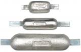 Rumpfanode Aluminium 1,4kg mit Anschweißlasche