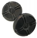 Allpa Lautsprechersatz 200W mit Hochtöner schwarz