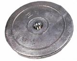Ruderblattanode  Zink Durchmesser 50mm