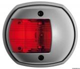 Navigationslicht aus der Serie Sphera grau RAL 7042 112,5 Grad rot