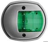 Navigationslicht aus der Serie Sphera grau RAL 7042 112,5 Grad grün