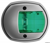 Compact LED Navigationslicht grau RAL 7042 112,5 Grad rechts 12V