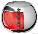 Compact LED Navigationslicht Edelstahl 112,5 Grad links 12V