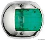 Compact LED Navigationslicht Edelstahl 112,5 Grad rechts 12V