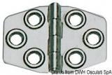 Scharnier AISI316, Stärke 1,5 mm poliert 68x46 mm