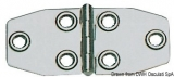Scharnier AISI316, Stärke 1,5 mm poliert 102x46 mm