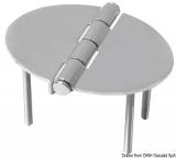 Schanier, oval 48x67 mm Stiftbefestigung 2 mm