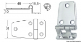 Scharniere, doppelte gewinkelte Version 67,5x37mm 18,5mm