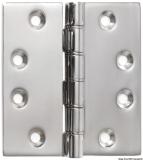 Feinguss-Scharnier 102x102x4 mm