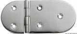 Scharnier verchromten hochglanzpolierten Inox Stahl 316 Typ A 180Grad AISI 316 145x65 mm