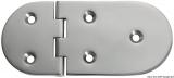 Scharnier verchromten hochglanzpolierten Inox Stahl 316 Typ B 95 Grad AISI 316 145x65 mm