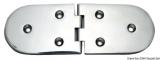Scharnier verchromten hochglanzpolierten Inox Stahl 316 Typ B 95 Grad AISI 316 190x65 mm