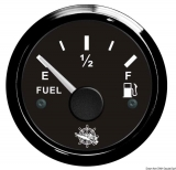 Treibstoffstandsanzeige 240 bis 33 Ohm Anzeige schwarz Blende schwarz
