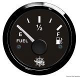 Treibstoffstandsanzeige 10 bis 180 Ohm Anzeige schwarz Blende schwarz