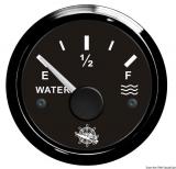 Wasserstandsanzeige 10 bis 180 Ohm  Anzeige schwarz Blende schwarz