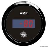 Digitaler Strommesser Anzeige schwarz Blende schwarz
