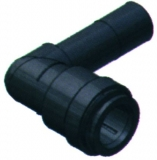 SeaTech Knie-Stück 15mm mit festem, einschiebbarem Rohr