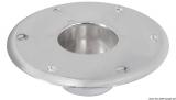 Ersatzsockel für div. Tischbeine aus eloxiertem Aluminium