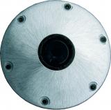 Aluminium Plug-In Einbau-Fußplatte 230mm für Fischersitz