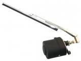 Scheibenwischer mit 9 mm Schaft, 280 mm Arm und Wischblatt, Winkel 80°