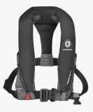 Rettungsweste Automatik mit Lifebelt Harness CREWFIT sport 165N schwarz