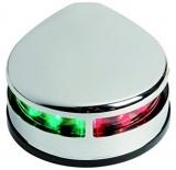 Navigationslicht EVOLED mit energiesparenden LED zur Bodenmontage, zweifarbig für eine Bootslänge von bis zu 20 m