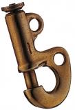 Stagreiter zum einnähen - Messing, 60 mm