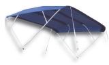 Sonnentop Sixty  Breite 200 cm Dachlänge 255cm Höhe 140cm bis 60 kmh inkl. Zusatz-Stützen (080115)