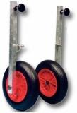 Transporträder für Schlauchboote Ibis abnehmbar