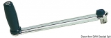 Winschkurbel VA-Stahl, hochglanzpoliert 200 mm
