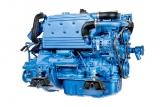 Dieselmotor Sole Mini 74 mit 4 Zylindern 70 PS mit TM 345 hydraulischem Wendegetriebe 2,47