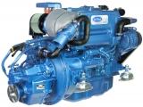 Dieselmotor Sole SM 82mit 4 Zylindern 82 PS mit TM 345 hydraulischem Wendegetriebe 2,00