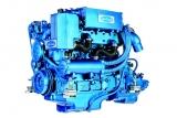 Dieselmotor Sole SDZ 165 mit 4 Zylindern 160 PS mit TM 170A hydraulischem Wendegetriebe 2,60