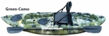 Angel Kajak Pedalrounder Green-Camo Länge 316cm Tagkraft 180kg