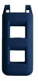 Treppenfender 2-Stufen: 25 x 12 x 55 cm - 3,0 kg Farbe: Dunkelblau navy