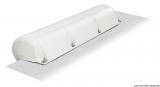 Aufblasbarer weißer PVC Fender für Bootsstege