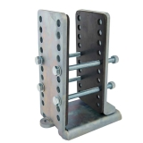 Universal closed frame bracket for Camper Trolley Universal Halterung