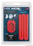 1 Befestigungsklemme + rotes Armband  für FOB Sender mit Batterie