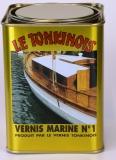 Le Tonkinois Vernis Marine Bootslack Nr.1 UV-beständig chemiefrei 1 Liter