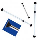 Teleskopische Persenning Stütze verstellbar von 865 bis 1515 mm