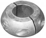 Wellenanode Schaftkragen Magnesium Welle 25mm