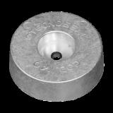 Rumpf und Heckanoden Disc anode for Stern Zink 3,00kg