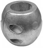 Navalloy Aluminium Wellenanode Kugelform 50mm