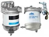 Dieselfilter mit Wasserabscheider und ohne Schauglas maximaler Durchfluss 100l/h