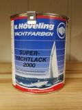 Höveling Super Yachtlack 2000 D01 RAL 3000 feuerrot 0,75l