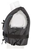 Besto Dinghy Zipper 50N Mehrzweck-Schwimmhilfe  Farbe schwarz/aqua Biese Größe XL