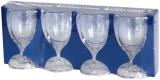 Ancor Line - Serie von unzerbrechlichen Gläsern Set 4 Weingläser, 200 ml